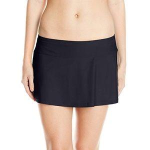 Prana Sakti Swim Skirt Bathing Suit Bottoms Black